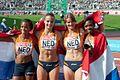 4 x 100m Netherlands Helsinki 2012.jpg