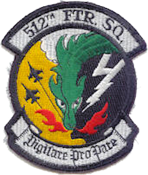 512th Fighter Squadron - Emblem of the 512th Fighter Squadron