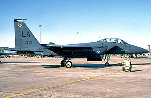 550th Fighter Squadron - Image: 550th Tactical Fighter Training Squadron Mc Donnell Douglas F 15E 44 MC Strike Eagle 87 171