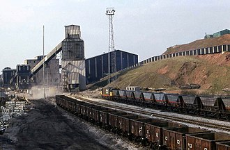 Shirebrook - Former Shirebrook Colliery in 2007