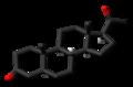 5alpha-Dihydroprogesterone 3D skeletal.png
