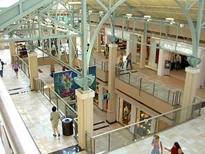 Newport Centre (shopping mall) - The Newport Centre, as seen from the third floor.