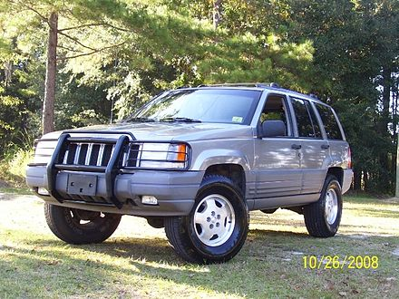 Jeep Grand Cherokee (ZJ) - Wikiwand