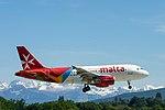 9H-AEL Airbus A319-111 A319 - AMC (27050267250).jpg