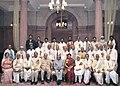 A.P.J. Abdul Kalam and the Union Minister for Human Resource Development, Shri Arjun Singh in a group photo with Sanskrit, Pali Prakrit.jpg