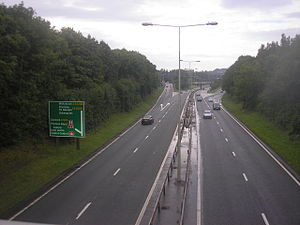A442 road - Image: A444Telford