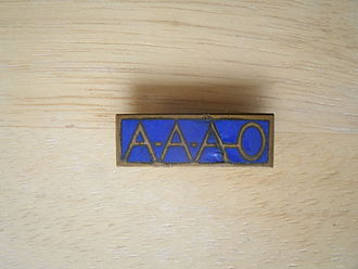 39th Infantry Regiment (United States) - AAA-O bar worn on the uniform of PFC John R. Hedlund during WW II