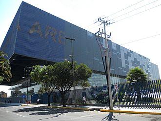 Triplemanía XXIV - Outdoor view of the Arena Ciudad de México building.