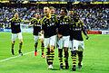AIK players after a goal (during AIK-Elfsborg, 2013).jpg