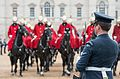 ARMED FORCES PROVIDE GLITTERING CEREMONY FOR STATE OPENING OF PARLIAMENT MOD 45159932.jpg