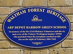 Arp depot harrow green school
