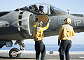 AV-8B Harriers operate aboard USS America 150225-N-ZZ999-008.jpg