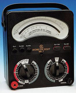 Avometer Line of multimeters
