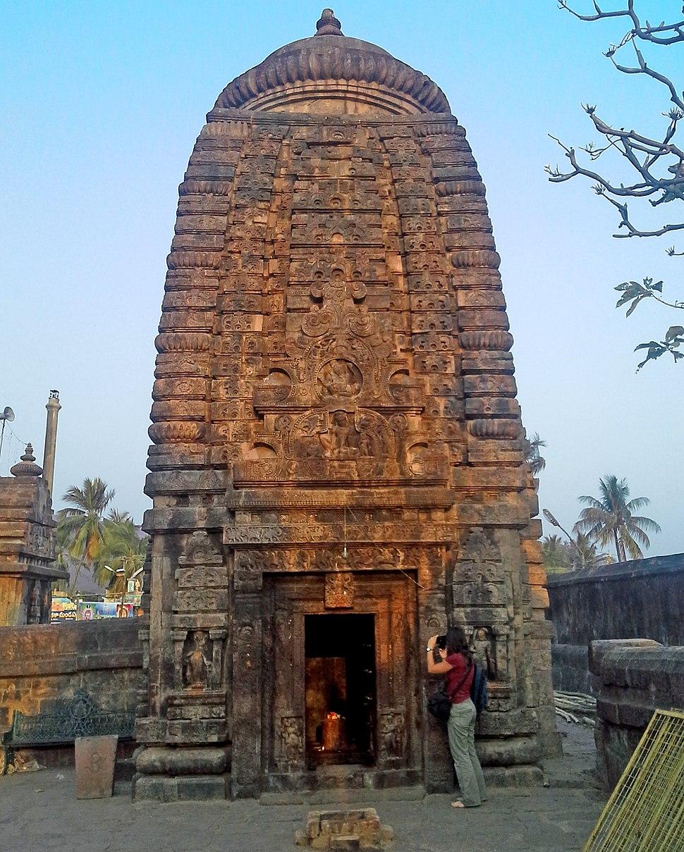A Temple in Sri Mukhalingam temple complex