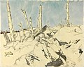 A Trench, Thiepval- German wire Art.IWMART2384.jpg