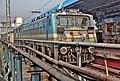 A WAG 5 loco brings the (Krishnarajapuram - Bhubaneshwar) Suvidha Express.jpg