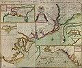 A compleat description of the province of Carolina in 3 parts - 1st, the improved part from the surveys of Maurice Mathews & Mr. John Love - 2ly, the west part by Capt. Tho. Nairn - 3ly, a chart of LOC 2004626926.jpg