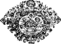 A compleat universal history, of the several empires, kingdoms, states etc Fleuron T114404-12.png