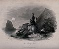 A drowning man and his horse in the sea; the drowning man ho Wellcome V0041604.jpg