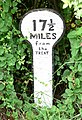 A mile marker along the Grantham Canal - geograph.org.uk - 949283.jpg