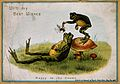 A postcard showing two frogs Wellcome V0018682.jpg