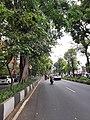 A street in Celaket area, Malang, 2021.jpg