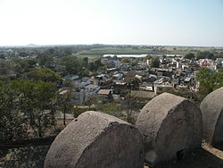 View of Dhār from the fort