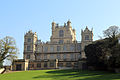 A view of Wollaton Hall west front from the south-west, Nottingham, England.jpg