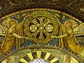 Aachen Dom Kuppelmosaik Detail 5.JPG
