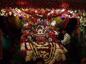 Akash Bhairav - Aakash bhairav during Indra Jatra