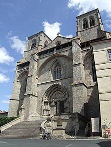 Fassade Der Klosterkirche Treppenaufgang Aus Dem Jahre 1758 Ist Kleiner Als Die Ursprungliche Version 14 Jahrhundert Ganze