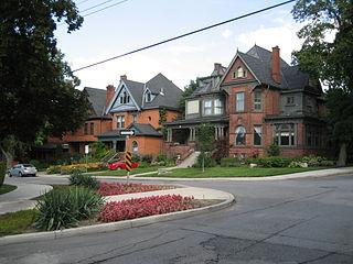 Aberdeen Avenue road in Ontario