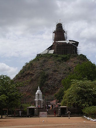 Valagamba of Anuradhapura - The Abhayagiri Stupa, built by Valagamba