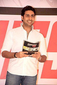A photograph of Abhishek Bachchan in 2011
