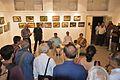 Abhoy Nath Ganguly Addressing - Inaugural Function - Atanu Ghosh Solo Exhibition - Kolkata 2016-10-20 0916.JPG