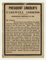 Abraham Lincoln's Farewell Address, The American News Company, 1861.png