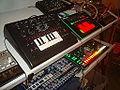 Acid setup - Korg Volca Bass, x0xb0x, MFB-Synth Lite, Roladn AIRA TB-3 Touch Bassline, Cyclone Analogic Bass Bot TT-303, Korg Volca Keys, Korg Electribe MX (EMX-1), Roland AIRA TR-8 Rhythm Performer (by David J).jpg