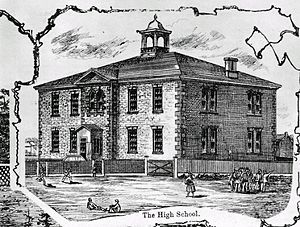 Almonte and District High School - Almonte High School, 1879