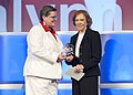 Administrator Hyde Presents Rosalynn Carter with SAMHSA Lifetime Leadership in Behavioral Health Award (5080470369).jpg