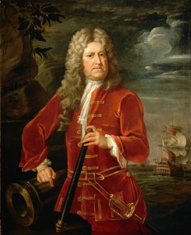 Admiral Nicholas Haddock painting possibly by Hans Hysing Admiral Nicholas Haddock, c. 1685-1746 RMG BHC2730.tiff