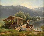 Adolf Lins Sommerliche Seenlandschaft 1885.jpg