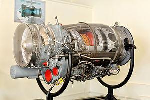 Rolls-Royce Turbomeca Adour - Adour Mk 811 displayed at HAL Aerospace Museum