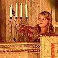 Advent Sunday in Vaxholm's church 2008.jpg