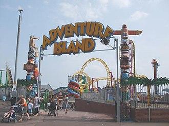 Adventure Island (amusement park) - Image: Adventure Island at Southend geograph.org.uk 903768