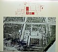 Aerial photograph and plan of the House of Dionysos, Archaeological Museum, Pella (7065301481).jpg