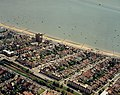 Aerial view of Southend seafront, Westcliff station and seafront - geograph.org.uk - 1707498.jpg