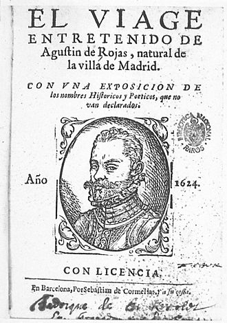 """Loa (Spanish play) - """"El viaje entretenido"""" by Agustín de Rojas Villandrando"""
