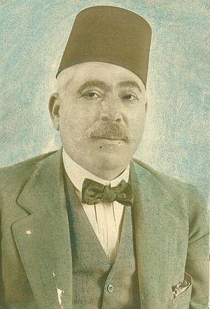 Ahmad Zaki Pasha - Colorized photograph of Ahmad Zaki Pasha