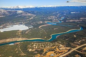 Yukon - Aerial photograph of Yukon