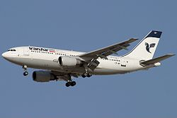 Airbus A310-203, Iran Air AN0732037.jpg